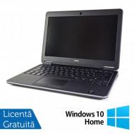 Laptop DELL Latitude E7240, Intel Core i5-4300U 1.90GHz, 8GB DDR3, 120GB SSD, 12.5 Inch, Webcam + Windows 10 Home Laptopuri