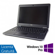 Laptop DELL Latitude E7240, Intel Core i5-4300U 1.90GHz, 8GB DDR3, 120GB SSD, 12.5 Inch, Webcam + Windows 10 Pro Laptopuri