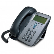Telefon VoIP Cisco CP-7905G, Display, Apelare rapida, Agenda, seond hand, fara alimentator Servere & Retelistica