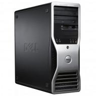 Workstation Dell Precision T3400, Intel Core 2 Duo E8400 3.00GHz, 4GB DDR2, 160GB SATA, DVD-RW Calculatoare