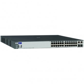 Switch HP Procurve 2626 (J4900B), 24 porturi 10/100, 2 mini- Gbic, Serial RS232 Servere & Retelistica