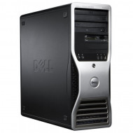 Workstation Dell Precision T3500, Xeon Quad Core W3520 2.66GHz - 2.93GHz, 6GB DDR3, HDD 500GB SATA, DVD-ROM, Nvidia GT640/1GB Calculatoare