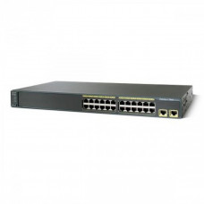 Switch Cisco WS-2960-24TT-L, 24 porturi Rj-45 10/100 Servere & Retelistica