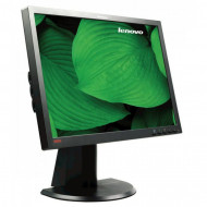 Monitor LENOVO ThinkVison L2440PWC, 24 Inch LCD, 1920 x 1200, VGA, DVI, USB, Grad B Monitoare & TV