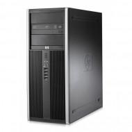 Calculator HP Compaq 8000 Elite Tower, Intel Core 2 Duo E7500 2.93GHz, 4GB DDR3, 250GB SATA, DVD-RW Calculatoare
