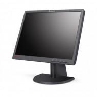 Monitor Lenovo ThinkVision L201p, 20 Inch LCD, 1600 x 1200, VGA, DVI, Grad B Monitoare & TV