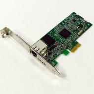 Placa de retea PCI Express X1, UTP 10/100/1000, diverse modele,  Second Hand Calculatoare