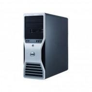Workstation Dell T5500, Intel Xeon Hexa Core E5645 2.40-2.67GHz, 12GB DDR3, 500GB SATA, GeForce GT 605 1GB, DVD-RW Calculatoare