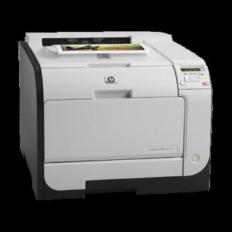 Imprimanta Laser Color HP LaserJet Pro 400 M451dn, Duplex, Retea, USB, 21ppm Imprimante