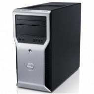 Workstation Dell Precision T1600, Intel Xeon Quad Core E3-1225 3.10GHz, 8GB DDR3, 240GB SSD, DVD-ROM Calculatoare