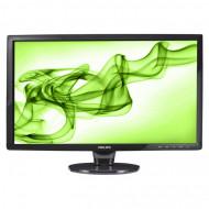 Monitor PHILIPS 241E1, 24 Inch Full HD LCD, VGA, DVI, Grad A- Monitoare & TV