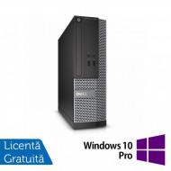 Calculator DELL OptiPlex 3010 Desktop, Intel Core i5-3475S 2.90GHz, 4GB DDR3, 250GB SATA, HDMI, DVD-RW + Windows 10 Pro Calculatoare