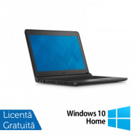 Laptop DELL Latitude 3350, Intel Core i5-5200U 2.20GHz, 16GB DDR3, 320GB SATA, Wireless, Bluetooth, Webcam, 13.3 Inch + Windows 10 Home Laptopuri