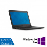 Laptop DELL Latitude 3350, Intel Core i5-5200U 2.20GHz, 8GB DDR3, 120GB SSD, Wireless, Bluetooth, Webcam, 13.3 Inch + Windows 10 Pro Laptopuri