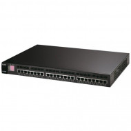 Switch HP ZyXEL Dimension XGS-4528F, 24 Ports, Managed, 1Gb RJ-45/SFP Servere & Retelistica