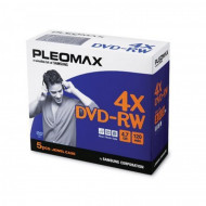 DVD-RW Samsung Pleomax 4.7GB, Jewel Case, 5 Bucati Software & Diverse