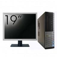 Pachet Calculator DELL OptiPlex 7010 Desktop, Intel Core i5-3550 3.30GHz, 4GB DDR3, 500GB SATA, DVD-RW + Monitor 19 Inch Calculatoare