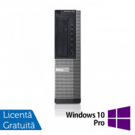 Calculator DELL OptiPlex 7010 Desktop, Intel Core i3-3220 3.30GHz, 4GB DDR3, 250GB SATA, DVD-ROM + Windows 10 Pro Calculatoare