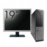Pachet Calculator DELL 790 Desktop, Intel Core i5-2400 3.10GHz, 4GB DDR3, 250GB SATA, DVD-ROM + Monitor 19 Inch Calculatoare