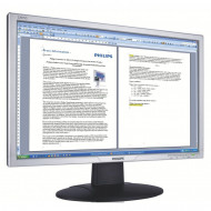 Monitor Philips 220AW, 22 Inch LCD, 1680 x 1050, VGA, DVI, Fara picior Monitoare & TV