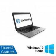 Laptop HP Elitebook 820 G2, Intel Core i5-5200U 2.20GHz, 4GB DDR3, 120GB SSD, DVD-RW, 12.5 Inch, Webcam + Windows 10 Home Laptopuri