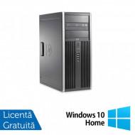 Calculator HP 8200 Tower, Intel Core i3-2100 3.10GHz, 8GB DDR3, 500GB SATA, DVD-ROM + Windows 10 Home (Top Sale!) Calculatoare