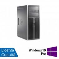 Calculator HP 8200 Tower, Intel Core i3-2100 3.10GHz, 8GB DDR3, 500GB SATA, DVD-ROM + Windows 10 Pro (Top Sale!) Calculatoare