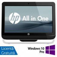 All In One HP Pro 3420, 20 Inch, Intel Core i3-2120 3.30GHz, 4GB DDR3, 500GB SATA, DVD-RW + Windows 10 Pro Calculatoare