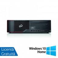 Calculator Fujitsu Siemens E710 SFF, Intel Core i7-3770 3.40GHz, 4GB DDR3, 250GB SATA, DVD-ROM + Windows 10 Home Calculatoare