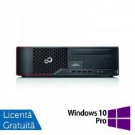 Calculator Fujitsu Siemens E710 SFF, Intel Core i7-3770 3.40GHz, 4GB DDR3, 250GB SATA, DVD-ROM + Windows 10 Pro Calculatoare