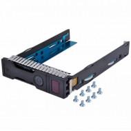 Caddy / Sertar pentru HDD server HP Gen8/Gen9, 3.5 inch, LFF, SAS/SATA Servere & Retelistica