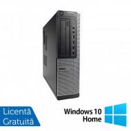 Calculator DELL OptiPlex 7010 Desktop, Intel Core i3-2100 3.10GHz, 4GB DDR3, 250GB SATA, DVD-RW + Windows 10 Home Calculatoare