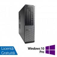 Calculator DELL OptiPlex 7010 Desktop, Intel Core i3-2120 3.30GHz, 4GB DDR3, 250GB SATA, DVD-ROM + Windows 10 Pro Calculatoare