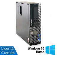 Calculator Dell OptiPlex 790 SFF, Intel Pentium G620 2.60GHz, 4GB DDR3, 250GB SATA + Windows 10 Home Calculatoare