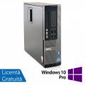 Calculator Dell OptiPlex 790 SFF, Intel Core i5-2400 3.10GHz, 4GB DDR3, 120GB SSD + Windows 10 Pro