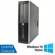 Calculator HP Compaq 6200 Pro SFF, Intel Celeron G530 2.40GHz, 4GB DDR3, 250GB SATA, DVD-RW + Windows 10 Home Calculatoare