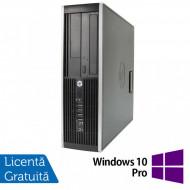 Calculator HP Compaq 6200 Pro SFF, Intel Celeron G530 2.40GHz, 4GB DDR3, 250GB SATA, DVD-RW + Windows 10 Pro Calculatoare