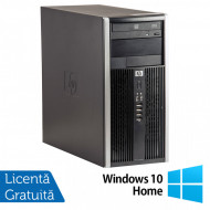 Calculator HP 6200 Tower, Intel Pentium G645 2.90GHz, 8GB DDR3, 500GB SATA, GeForce GT210 512MB DDR3, DVD-ROM + Windows 10 Home (Top Sale!) Calculatoare