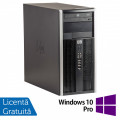 Calculator HP 6200 Tower, Intel Core i5-2400 3.10GHz, 8GB DDR3, 500GB SATA, GeForce GT210 512MB DDR3, DVD-ROM + Windows 10 Pro (Top Sale!)