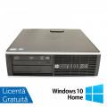 Calculator HP 8200 SFF, Intel Pentium G645 2.90GHz, 4GB DDR3, 250GB SATA, DVD-ROM, Port Serial, Display Port + Windows 10 Home (Top Sale!)