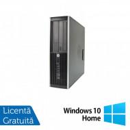 Calculator HP Compaq Elite 8300 SFF, Intel Core i5-3570 3.40GHz, 8GB DDR3, 120GB SSD, DVD-RW + Windows 10 Home Calculatoare
