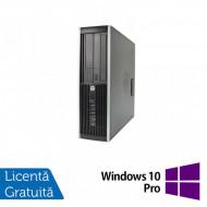 Calculator HP Compaq Elite 8300 SFF, Intel Core i5-3570 3.40GHz, 8GB DDR3, 120GB SSD, DVD-RW + Windows 10 Pro Calculatoare