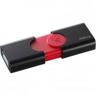 Memorie USB Kingston DataTraveler 106, 32GB, USB 3.1, Negru DT106/32GB Componente & Accesorii