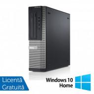 Calculator DELL OptiPlex 3010 Desktop, Intel Core i3-3220 3.30GHz, 4GB DDR3, 250GB SATA, HDMI, DVD-RW + Windows 10 Home Calculatoare