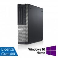 Calculator DELL OptiPlex 3010 Desktop, Intel Core i3-3220 3.30GHz, 4GB DDR3, 250GB SATA, HDMI, DVD-RW + Windows 10 Pro Calculatoare