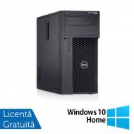 Workstation Dell Precision T1700, Intel Quad Core i5-4690 3.50GHz - 3.90GHz, 32GB DDR3, 512GB SSD + 2TB HDD, nVidia Quadro K2200/4GB, DVD-RW + Windows 10 Home Calculatoare
