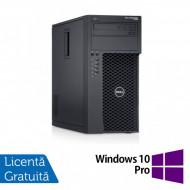 Workstation Dell Precision T1700, Intel Quad Core i5-4690 3.50GHz - 3.90GHz, 16GB DDR3, 512GB SSD, nVidia Quadro K620/2GB, DVD-RW + Windows 10 Pro Calculatoare