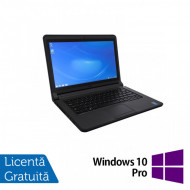 Laptop DELL Latitude 3340, Intel Core i5-4200U 1.60GHz, 4GB DDR3, 120GB SSD, Wireless, Bluetooth, Webcam, 13.3 Inch + Windows 10 Pro Laptopuri