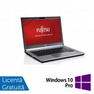 Laptop FUJITSU SIEMENS E734, Intel Core i5-4200M 2.50GHz, 8GB DDR3, 120GB SSD, 13.3 Inch, Fara Webcam + Windows 10 Pro Laptopuri