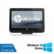 All In One HP Pro 3520, 20 Inch, Intel Core i3-3220 3.30GHz, 4GB DDR3, 120GB SSD, DVD-RW + Windows 10 Home Calculatoare